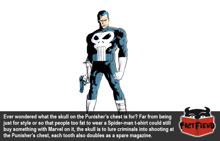 This Is Why The Punishers Symbol Is A Giant Skull Fact Fiend