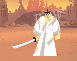 "How do you expect us to sell ""unrelenting samurai badass"" to an audience of kids?"