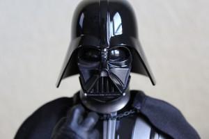 Just like the real Darth Vader.