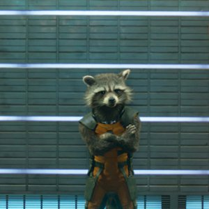 We are genuinely excited at the prospect of owning a cuddly Rocket Raccoon toy.