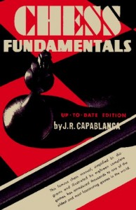 Pictured: The book Capablanca later wrote about chess because he was such a fucking expert at it.