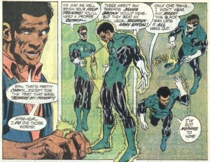 Pictured: How 70's comic writers genuinely though black people spoke.