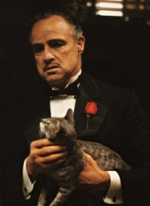 Pictured: The Cat from The Godfather