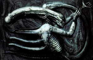 Fun fact: According to Giger, he painted his nightmares.