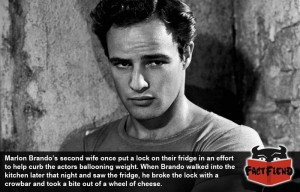 Marlon Brando doesn't give a fuck