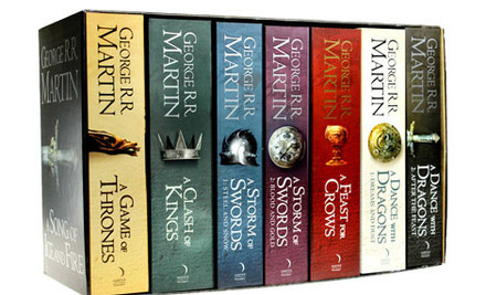 game of thrones sequence of books
