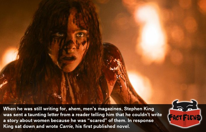 essays about carrie by stephen king Carrie is stephen king's first novel a large part of its fame comes from the fact that it was actually the fourth novel he wrote and submitted to publishers – a.