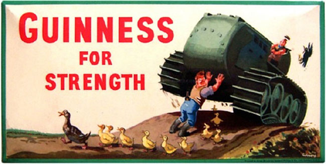 The Nazi Guinness Posters They Don't Want You to See - Fact Fiend
