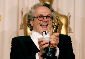 Pictured: George Miller with a fucking Oscar he won for Happy Feet.