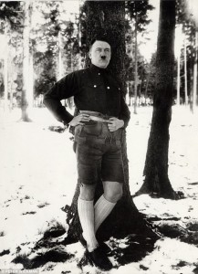 Actual picture of Hitler.