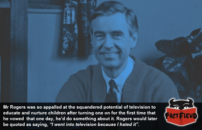 Mr Rogers Hated Tv When He First Saw It Fact Fiend