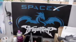 This is an actual poster someone working for SpaceX has on their wall.