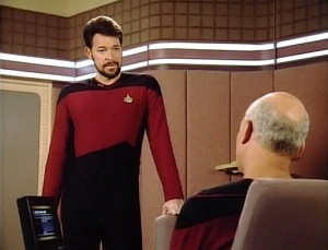 """My beard's up here, Picard."""