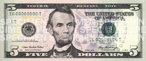 You know, the same face the eventually carved into a mountain and put on our money?