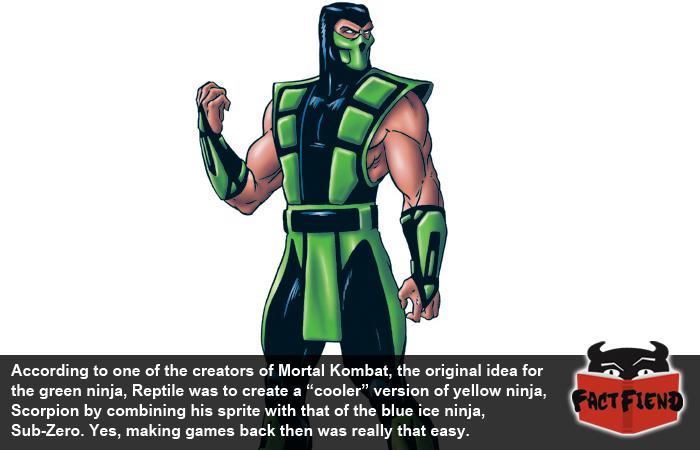 The Suprisingly Elaborate Origin Of Mortal Kombat S Reptile Fact