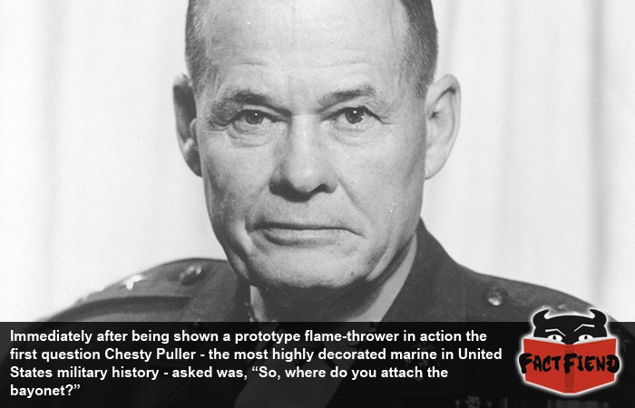 Ranks In Marine >> Chesty Puller, The Marine's Marine - Fact Fiend