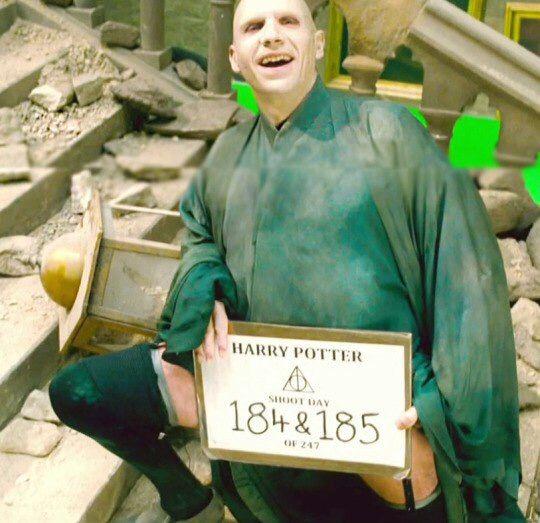 """Scared, Potter?"""
