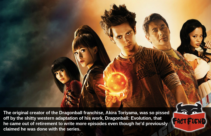 Dragonball Evolution Was A Flaccid Soulless Live Action Re Imagining Of A Beloved Japanese Property It Was Mauled Critically Flopped Harder A Whale