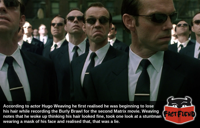 the matrix reloaded made hugo weaving realise he was losing his