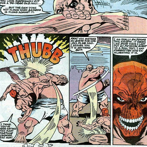 Nobody likes Red Skull - Fact Fiend