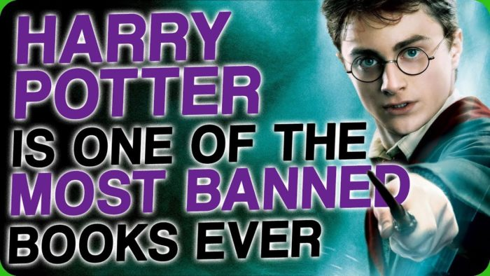 Image result for harry potter banned