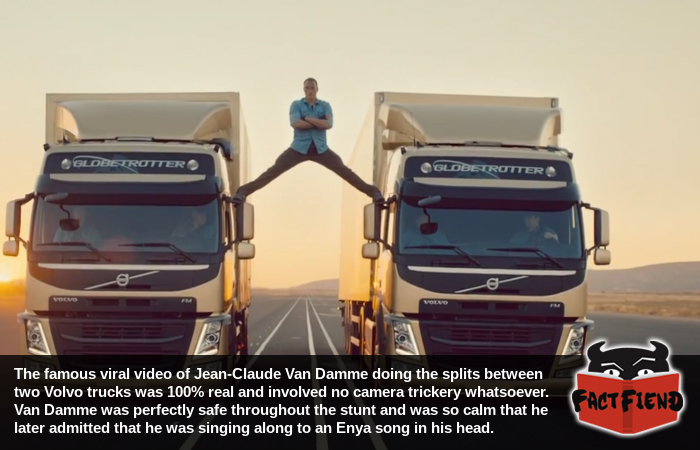 That Jean Jean-Claude Van Damme truck stunt was real - Fact Fiend