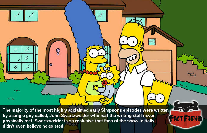The Simpsons Writer So Good Nobody Believed He Existed Fact Fiend