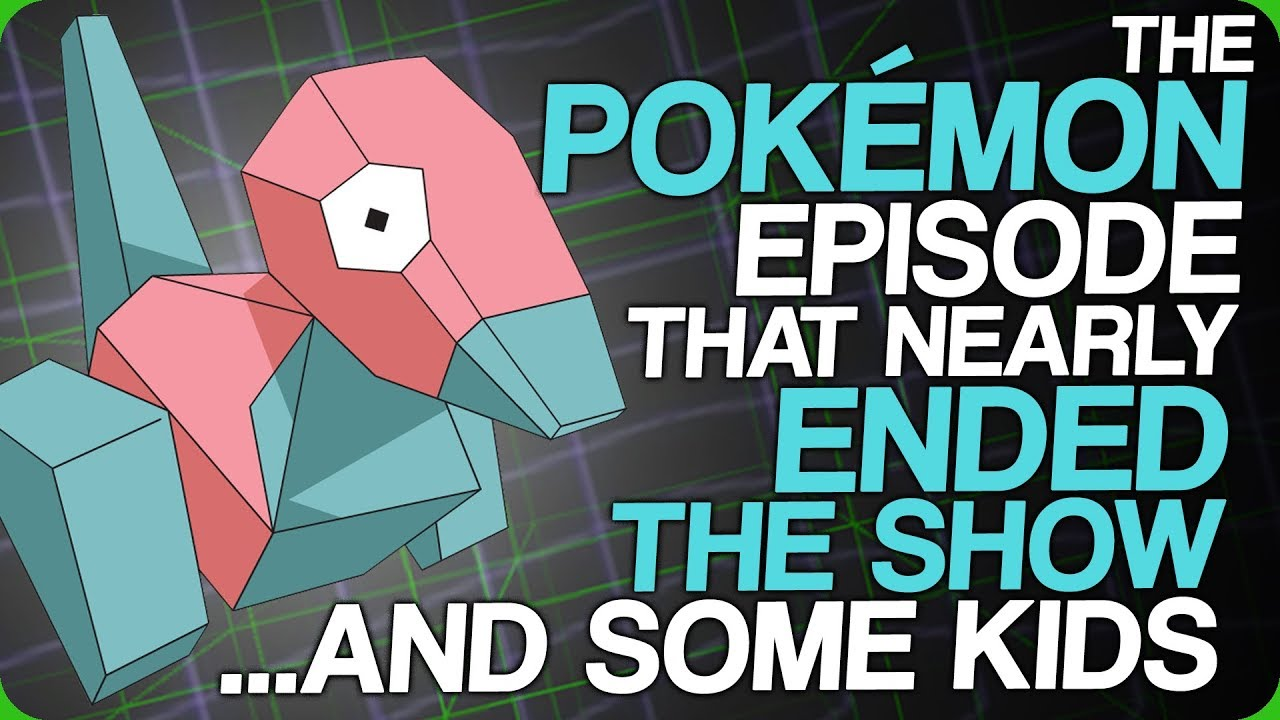 """The infamous """"seizure"""" episode of the original Pokemon anime, so named  because it caused actual God-damn seizures, is one of the most  controversial episodes ..."""