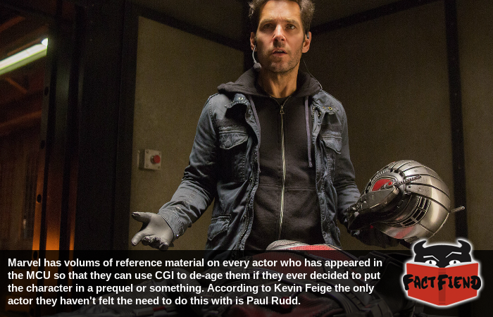 Even Marvel doesn't think Paul Rudd has aged - Fact Fiend