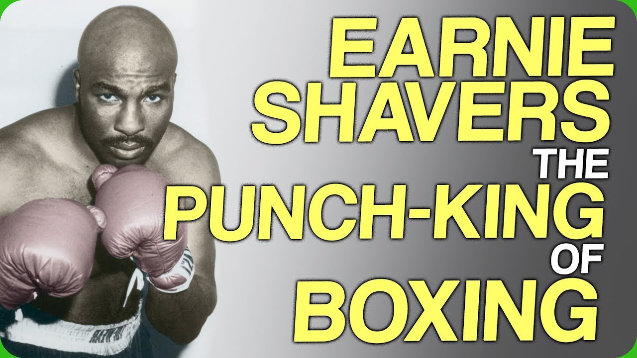 Earnie Shavers, the punch-king of boxing - Fact Fiend