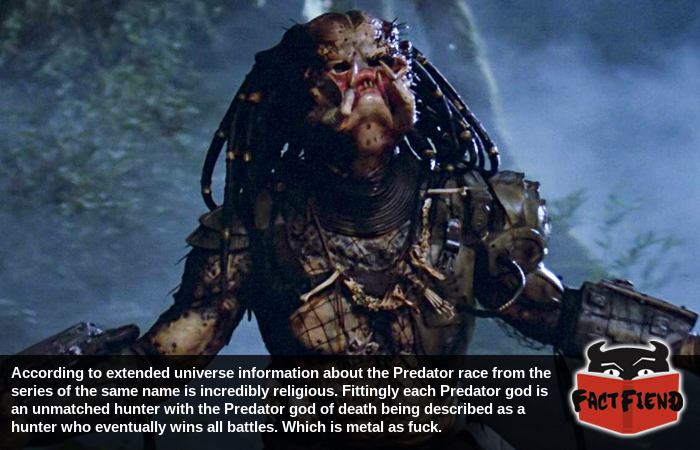 The Predators worship the most metal god in fiction - Fact Fiend