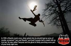 The Awesome Story of Tianyuan, The Badass Shaolin Monk