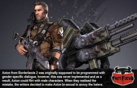 Axton From Borderlands 2 is Bi-sexual Due to a Programming Error