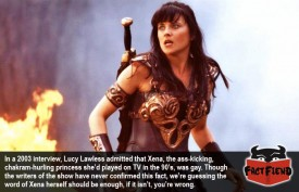 "Xena the Warrior Princess Was ""Definitely"" Gay"