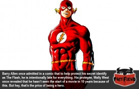 The Flash Has The Best Method of Hiding His Secret Identity
