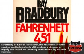Ray Bradbury was Once Told His Interpretation of His Own Book Was Wrong