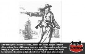 The Story of Jeanne de Clisson the Badass Female Pirate