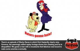 Dick Dastardly Was Robbed of a Legitimate Victory in Wacky Races