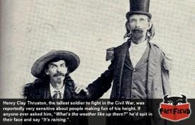 The Tallest Soldier in the Civil War Didn't Mess Around