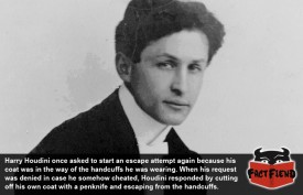 Houdini's Toughest Escape Was From a Single Pair of Handcuffs