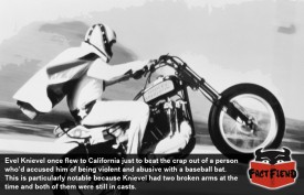 That One Time Evel Knievel Beat Someone With a Baseball Bat