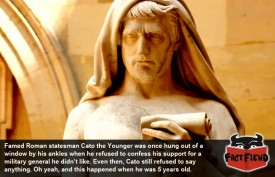 Cato the Younger Didn't Give a F**k