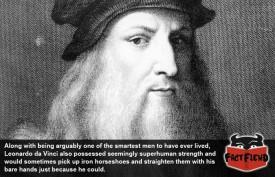 Leonardo da Vinci Could Kick Your Ass