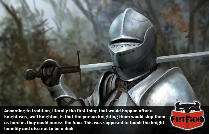 Image result for knight slap